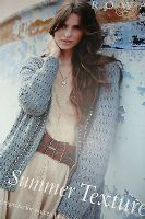 ROWAN SUMMER TEXTURES KNITTING PATTERN BOOK - summer tweed savannah all seas